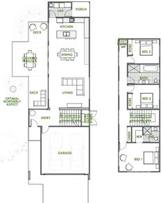 From Pagola to Solar Passive Design, the Harper has it all. Duplex House Plans, Dream House Plans, Small House Plans, Double Storey House Plans, Architectural Floor Plans, Passive Design, Study Nook, Storey Homes, Energy Efficient Homes