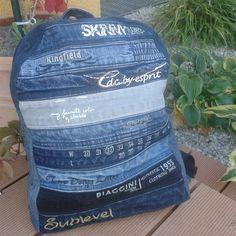 DER coooolste RUCKsack schlecht hin! Oder? #jtrecycling www.jtrecycling.at #jeansrecycling
