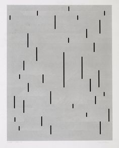 With Verticals / love this screenprint (1946/1983) by Anni Albers. via PAWLING print studio.