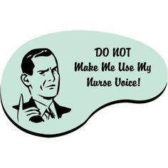 Nurse voice - male.