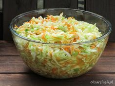 Polish Recipes, Polish Food, Calzone, Guacamole, Salad Recipes, Cabbage, Food And Drink, Vegetables, Dinner