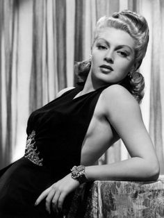 LANA TURNER nee' JULIA JEAN TURNER 02-08-1921 til 06-29-1995 (74) AMERICAN ACTRESS