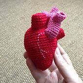 Ravelry: Valentine Crochet DIY: Here is my heart, you can take it pattern by Cécile Valletoux
