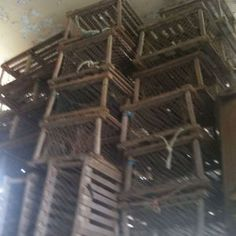 Lobster Pots ~ May have to buy me one!!!!