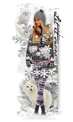 """""""Let It Snow!"""" by tracireuer ❤ liked on Polyvore featuring art"""