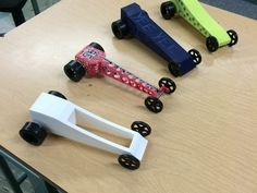 3D Printed CO2 Cars Made By High school Class: http://3dprint.com/4230/3d-printed-co2-car-race/