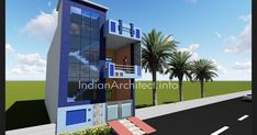Here is Plan and 3D view of 1000 sqft Modern contemporary Residential Project design By Kushal Changeriya  (Indian Architect Chittorg...