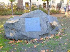 Conscientious Objectors Stone in Tavistock Square London #london #travel #vacation