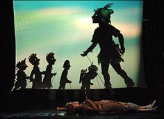 "The Children's Theatre Company's ""Peter Pan"" involves direction from Douglas Irvine of Scotland's Visible Fictions and shadow puppets created by Italian designer Fabrizio Montecchi of Teatro Gioca Vita, Italy.  minnpost.com"