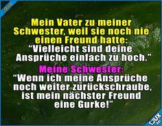 Gurken haben so ihre Vorteile!  #Freund #Beziehung #allein #foreveralone #Sprüche #lustig #peinlich #Humor