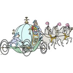 cinderella pumpkin carriage bed ❤ liked on Polyvore featuring disney, cinderella and cartoon