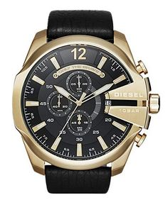 Diesel Mens Mega Chief Chronograph Black Leather Strap Watch See this great product. (This is an affiliate link) Diesel Mens Mega Chief Chronograph Black Leather Strap Watch See this great product. (This is an affiliate link) Sport Watches, Watches For Men, Wrist Watches, Men's Watches, Watches Online, Jewelry Watches, Diesel Brand, Herren Chronograph, Diesel Watch