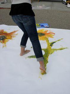 taidetta jaloilla