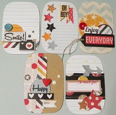 Make scrapbook page embellies