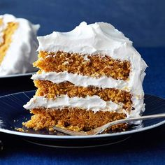 Triple-Layer Carrot Cake with Fluffy Vanilla Frosting