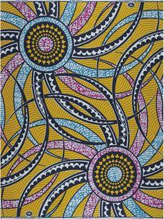 Vlisco.  #textile #fabric