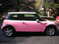 what a fabulous pink mini...i thought i wanted hot pink, but this might be better