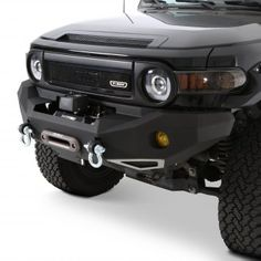 Full Width Front HD Winch Bumper by Smittybilt®. Looking for the ultimate fender-to-fender protection for your off-road warrior? Check out our premium collection of super-strong Smittybilt off-road bumpers. 2015 Fj Cruiser, Fj Cruiser Off Road, Fj Cruiser Parts, Fj Cruiser Mods, 2007 Toyota Fj Cruiser, Toyota Trucks, Lifted Ford Trucks, Toyota 4x4, Toyota Hilux