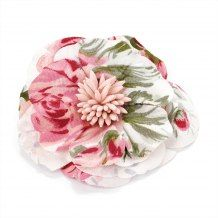 Pink Tone Flower Clip