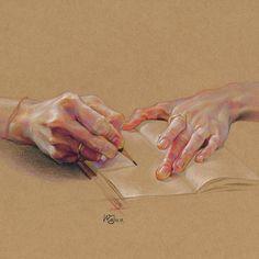 Hands in paintings Arte Sketchbook, Abstract Painters, Gcse Art, Ap Art, Color Pencil Art, Anatomy Art, Art Studies, Art Drawings Sketches, Portrait Art