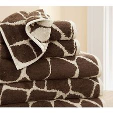 Leopard Bath Towels For Master Bath For The Home Pinterest - Zebra bath towels for small bathroom ideas
