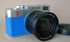 Peter's blue Leica Digilux 2