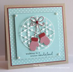 CAS Precious Mittens by stampit74 - Cards and Paper Crafts at Splitcoaststampers