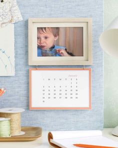 12 Thoughtful Mother's Day Gifts for Grandma | Martha Stewart Living - Here's a way for her to see the smiling faces of her grandchildren every day, even from afar. Print out a custom calendar with our free clip-art.