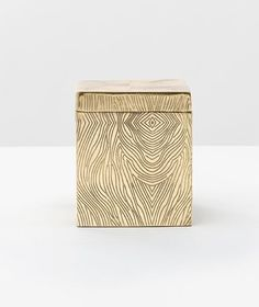 Humbolt Metal Canister - Shiny Brass
