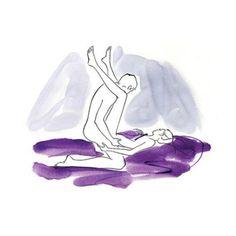 Sexo : 8 positions sexuelles qui garantissent (presque) à tous les coups un orgasme pour les femmes ! Vous les connaissez ?
