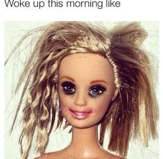 21 pictures that sum up girl problems haha Funny Quotes, Funny Memes, Hilarious, Funny Cartoons, Qoutes, Haha, Panda Eyes, Bad Barbie, Makeup Humor