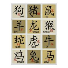 Shop Chinese Zodiac Signs - iPad Mini Case created by ImGEEE. Chinese Astrology, Chinese Zodiac Signs, Chinese Words, Chinese Symbols, Chinese Writing, Chinese Art, Chinese Typography, Learn Chinese, Zodiac Symbols
