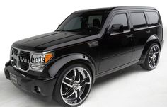 I ♡ my dodge nitro! Soon will be upgrading my rims :) oh, how he loves me!