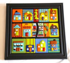 Mix my clay work with fused glass
