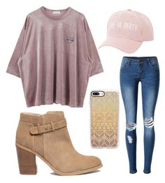 """Sans titre #2"" by giuliavincent on Polyvore featuring mode, WithChic, Sole Society, Casetify et Charlotte Russe"