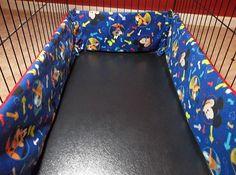 Dog Crate Bumper Pads Minnie Mickey Winnie by TheCreativeEscape