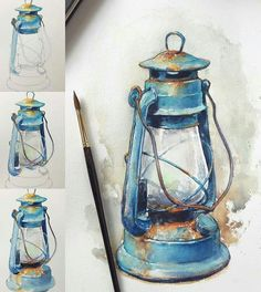 40 Realistic But Easy Watercolor Painting Ideas You Haven't Seen Before Watercolor Drawing, Watercolor Illustration, Painting & Drawing, Watercolor Paintings, Easy Watercolor, Watercolor Painting Techniques, Arte Sketchbook, Painting Inspiration, Art Drawings