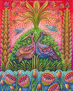 The Si-Fu's Garden an 8 x 10 ART PRINT of two by MandySaile