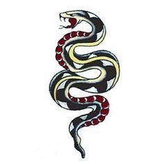 old school snake tattoo