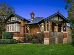 Chatswood surges to new heights as records tumble and buyers flock to the suburb House Exterior Color Schemes, Exterior Paint Colors For House, Red Brick Exteriors, House Exteriors, Bungalow Exterior, Two Storey House, Exterior Cladding, Craftsman House Plans, Australian Homes