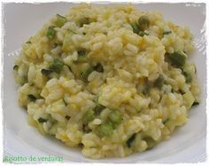 Risotto Light y saludable Le Chef, Ravioli, Flan, Fried Rice, Chowder, Pasta, Food And Drink, Soup, Favorite Recipes