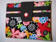 Ipad Cover floral polka dot print by proverbs104gifts on Etsy, $32.95