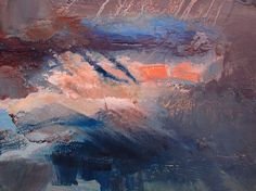 Anna Maria Papadimitriou - Depth of a Present Sunshine - Oil on paper, 30x40cm, 2015