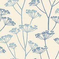 Fine Decor Albury Blue Wallpaper