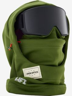 Anon MFI Hood Clava: FEATURES of the Anon Men's MFI Hooded Clava Bonded stretch fleece fabric with adjustable bungee cord Compatible with all men's and youth MFI models Machine washable Winter Hiking, Winter Gear, Snow Boots, Winter Boots, Mens Face Mask, Snowboarding Outfit, Snowboarding Resorts, Snow Gear, Tactical Clothing