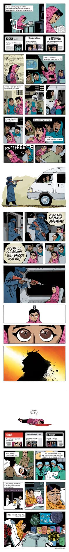 Malala. A necessary person. The world needs more such people. Every block of every city.
