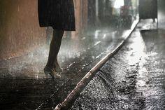 rain in Hong Kong by Christophe Jacrot