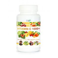 Witamina C 1000+ TiB, czyli kwas l-askorbinowy i wyciągi z owoców, oraz właśnie kwercetyna
