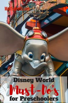 Disney World Must-Dos for Preschoolers