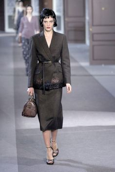 Paris Fashion Week: Louis Vuitton Fall 2013 / Photo by Anthea Simms